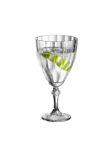 Paşabahçe 6'Lı Dıamond Şarap Kadehi Renkli